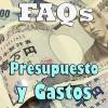 FAQs - Sobre presupuesto y dinero